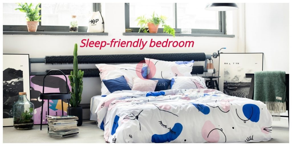 Sleep-friendly bedroom